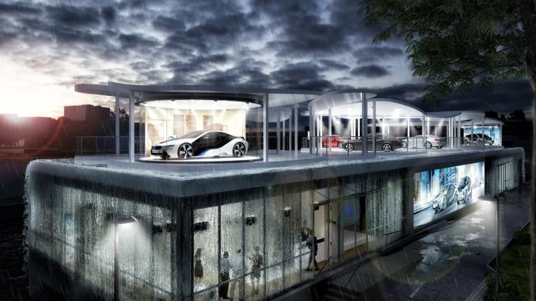 BMW olypic pavillion